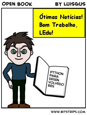 Clique na imagem para baixar o livro Python para Desenvolvedores